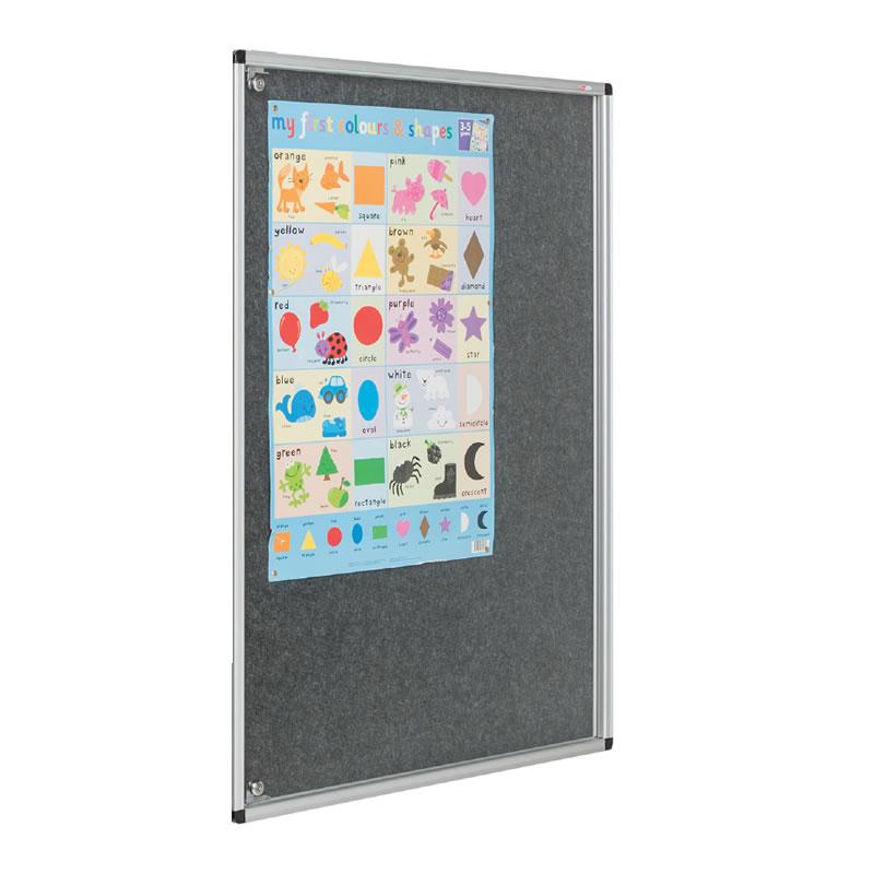 Tamperproof Lockable Noticeboards - Side Hinged Single Door
