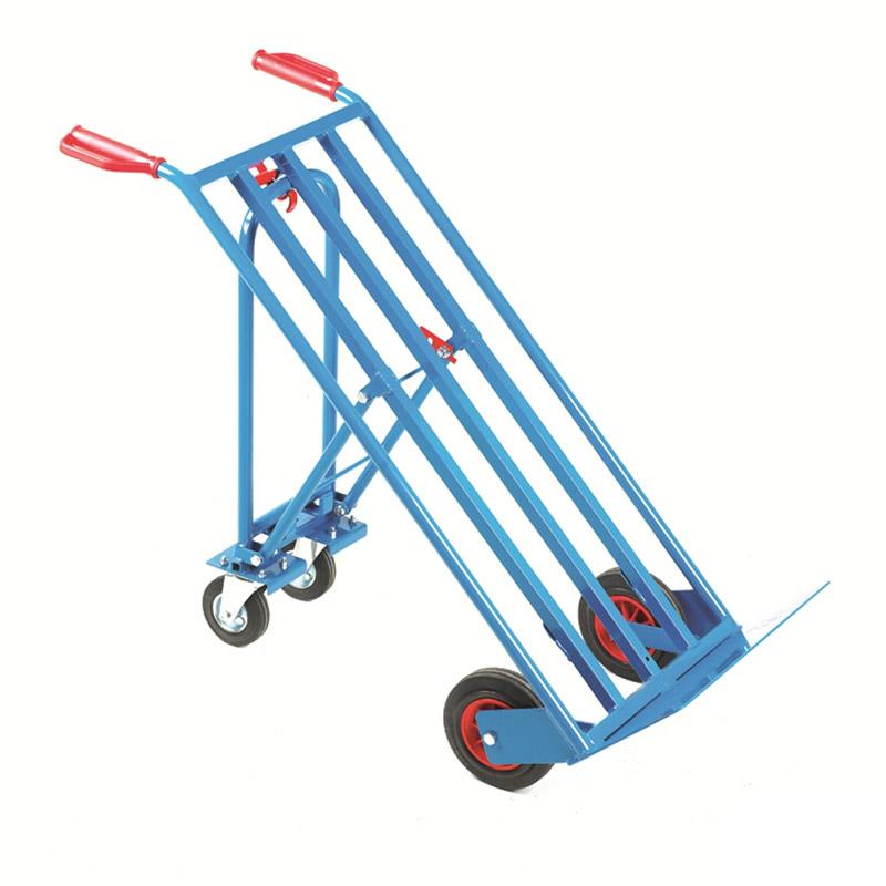 Three Way Truck - Blue Powder Coated