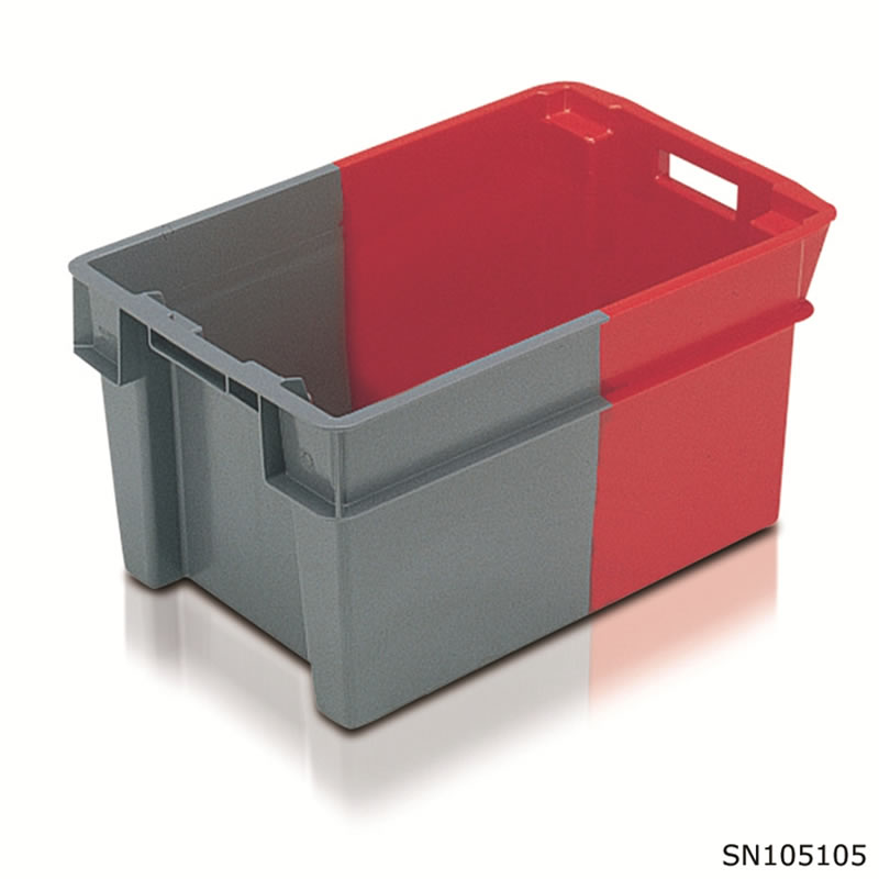 Two Tone Stack Nest Containers - 300 x 400 x 600