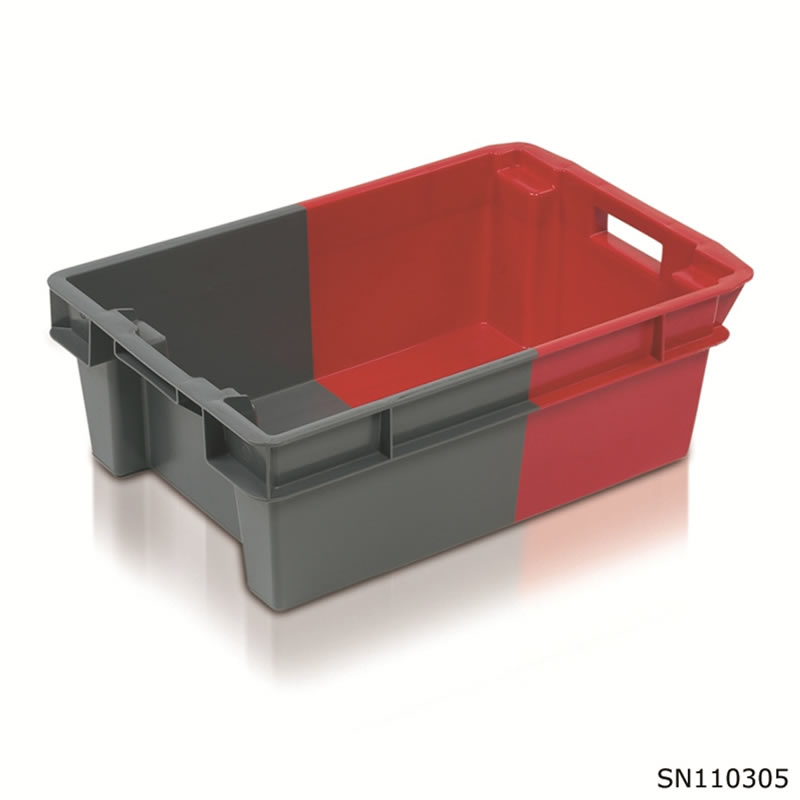 Two Tone Stack Nest Containers - 200 x 400 x 600