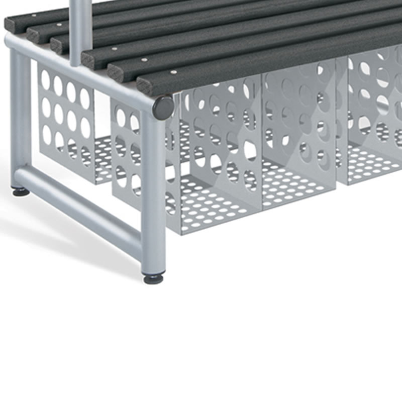 Under Bench Basket - Double Sided - 1000mm