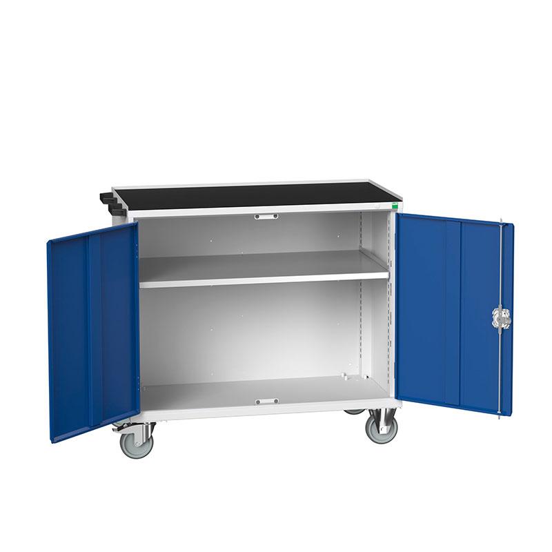 Verso Maintenace Trolleys - Full Width Cupboard