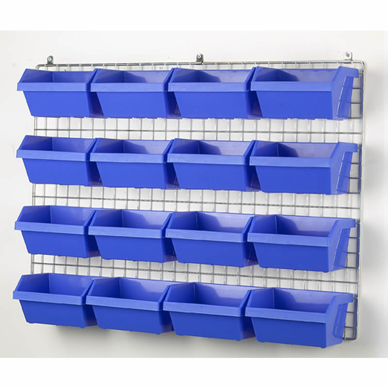Barton Visibin Wall Grid with Fixings - 630mm x 860mm