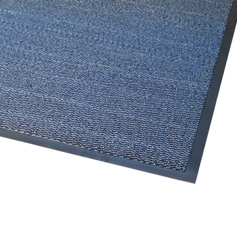 Vynaplush Doormat - Black/Blue