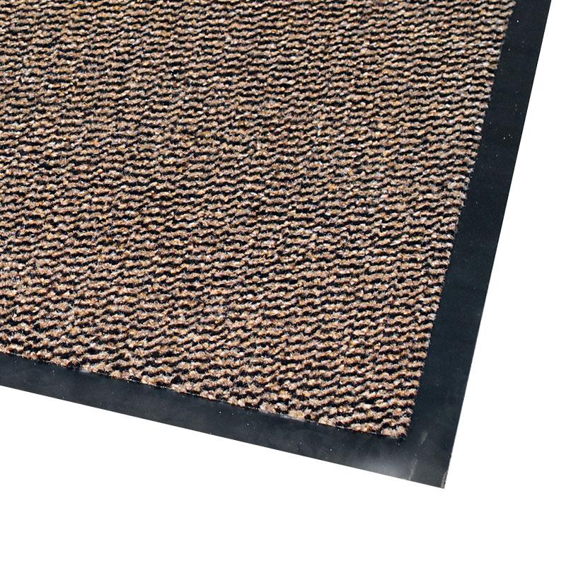 Vynaplush Doormat - Black/Brown