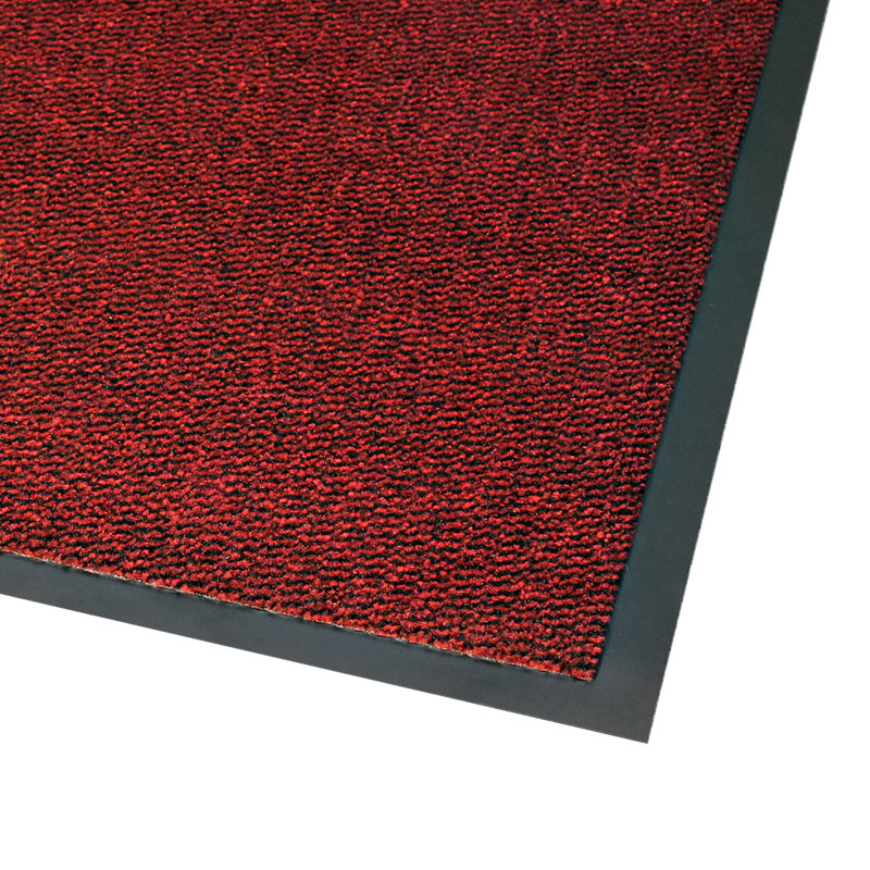 Vynaplush Doormat - Black/Red