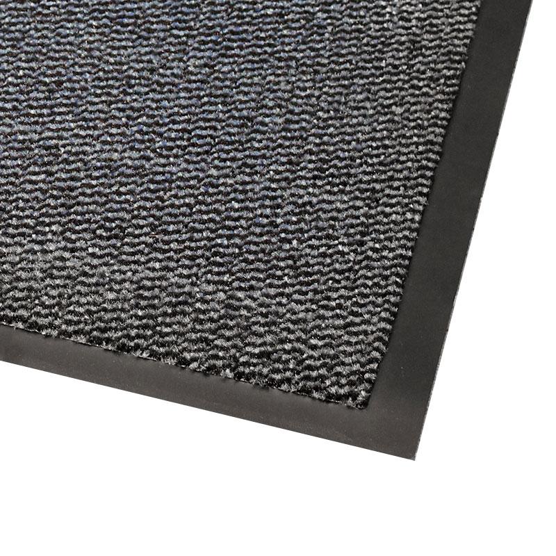 Vynaplush Doormat - Black/Steel