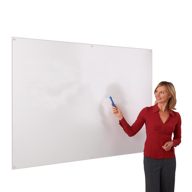 Frameless White Edged Whiteboards