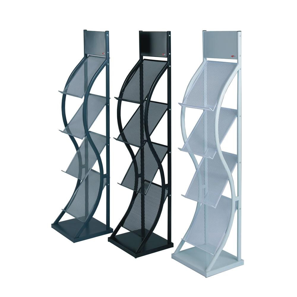 Wave Literature Display Racks