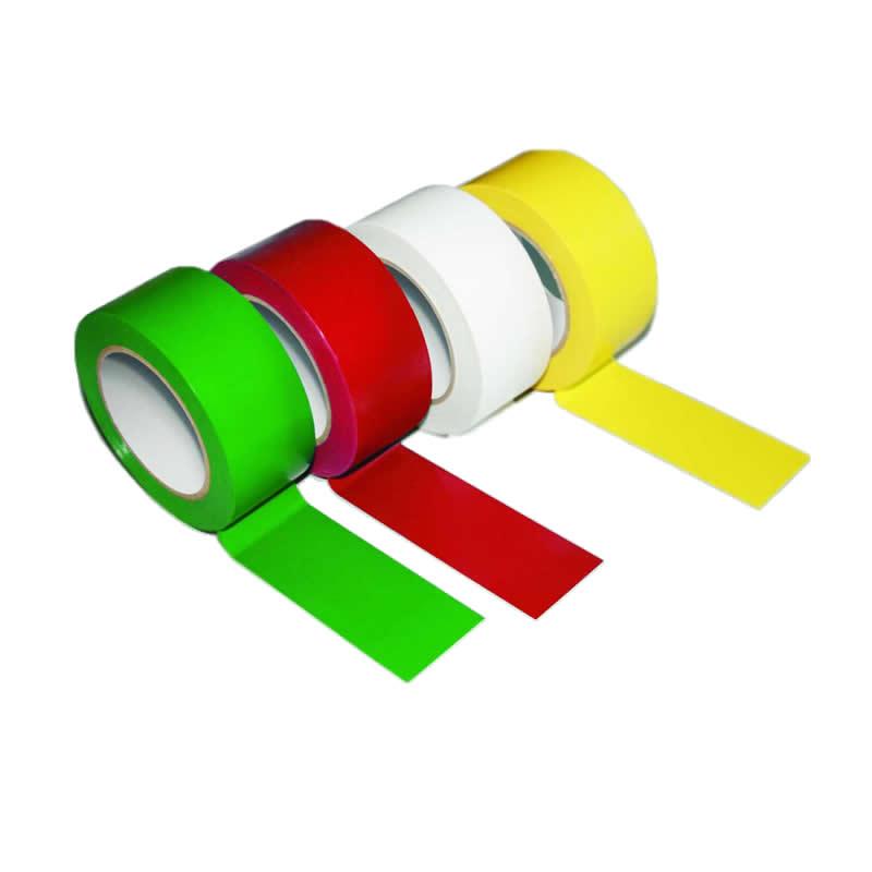 Extra Wide Lane Marking PVC Tape - 75mm x 33m Rolls
