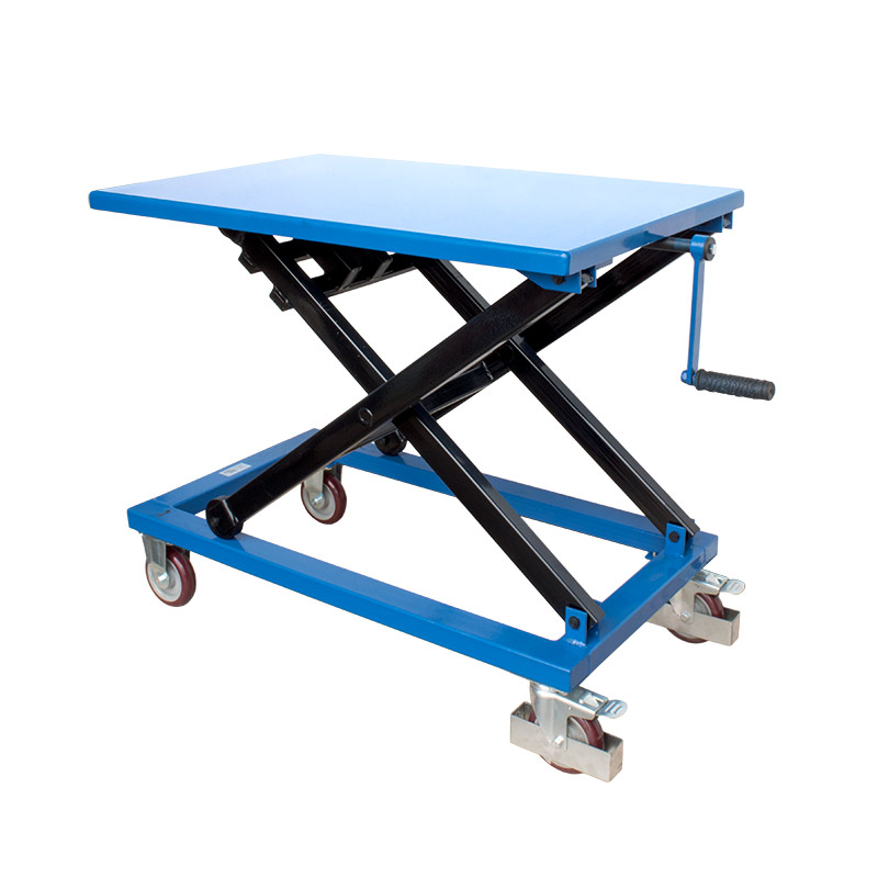 Winch Scissor Lift Tables