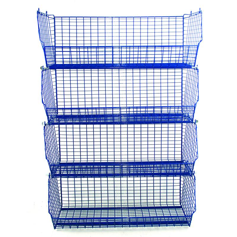 Wire Display Baskets - 350mm High