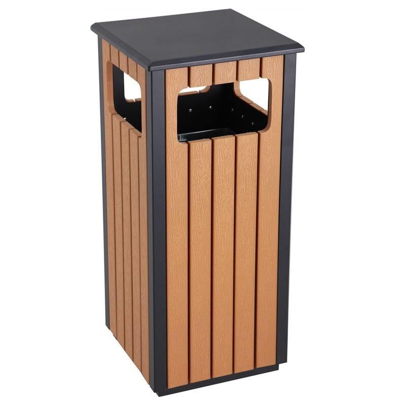 Wood Effect Bins - Single - 36 Litre