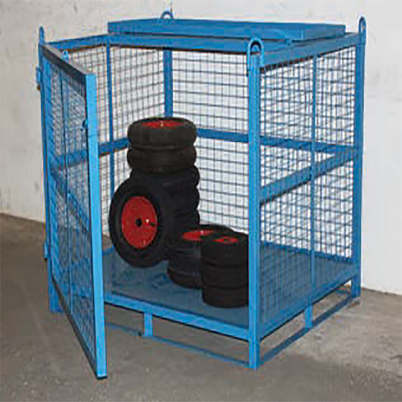Heavy Duty Craning Cage with Opening Front and Security Roof
