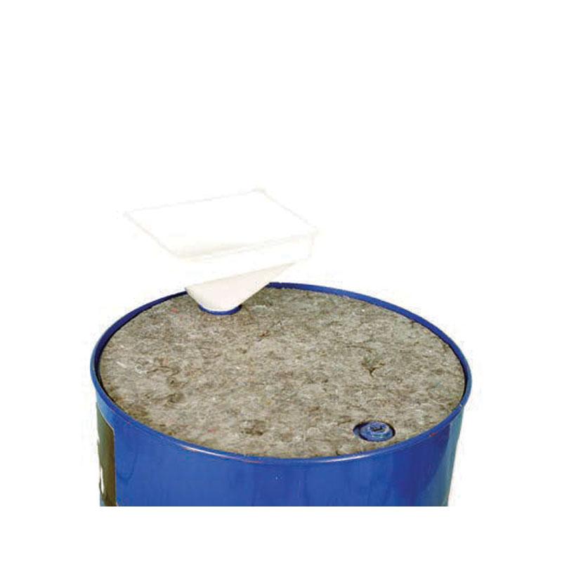 Absorbent Drum-Top-Pad - Clip-Top-Bag - Pack of 5