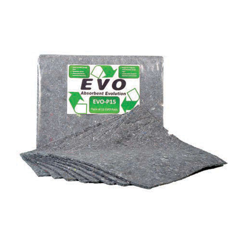 Absorbent Pads - Clip-Top Bag - Pack of 15