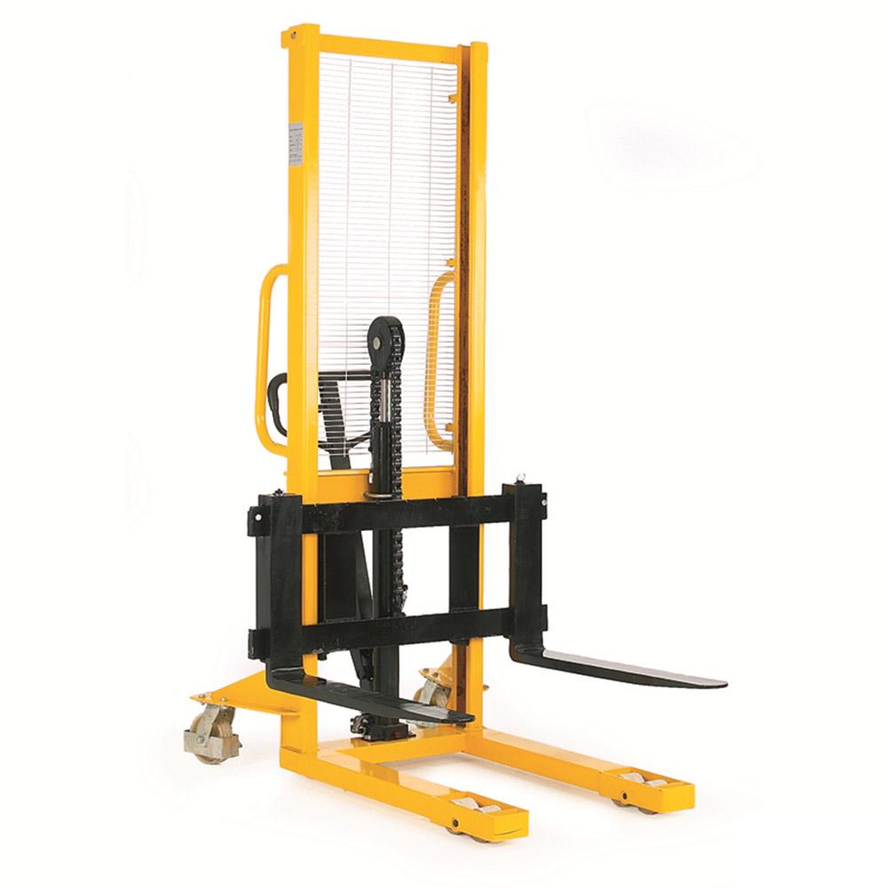 Stacker - 1600mm Lift Height - Adjustable Forks