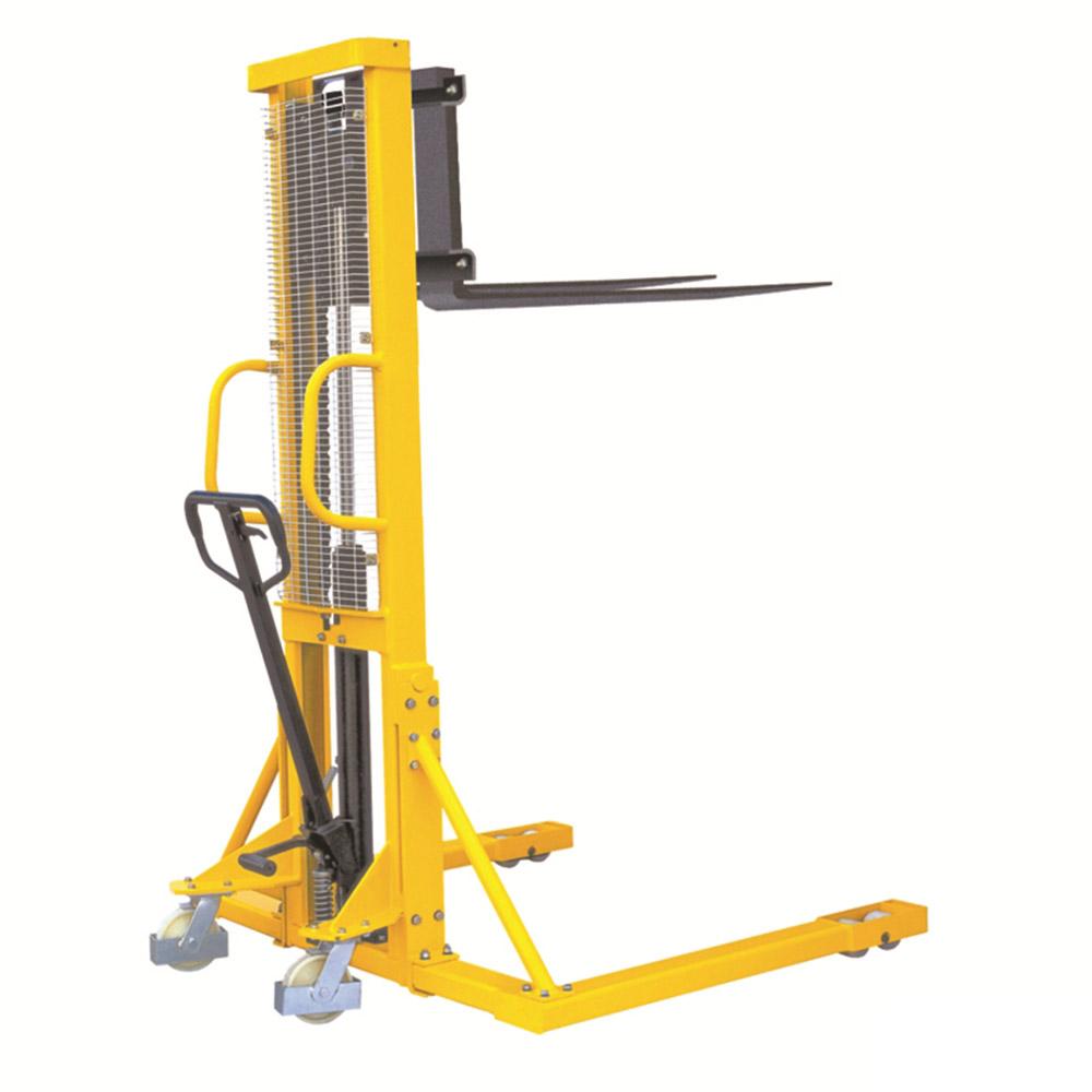 Hydraulic Stacker - Straddle Forks 1000kg