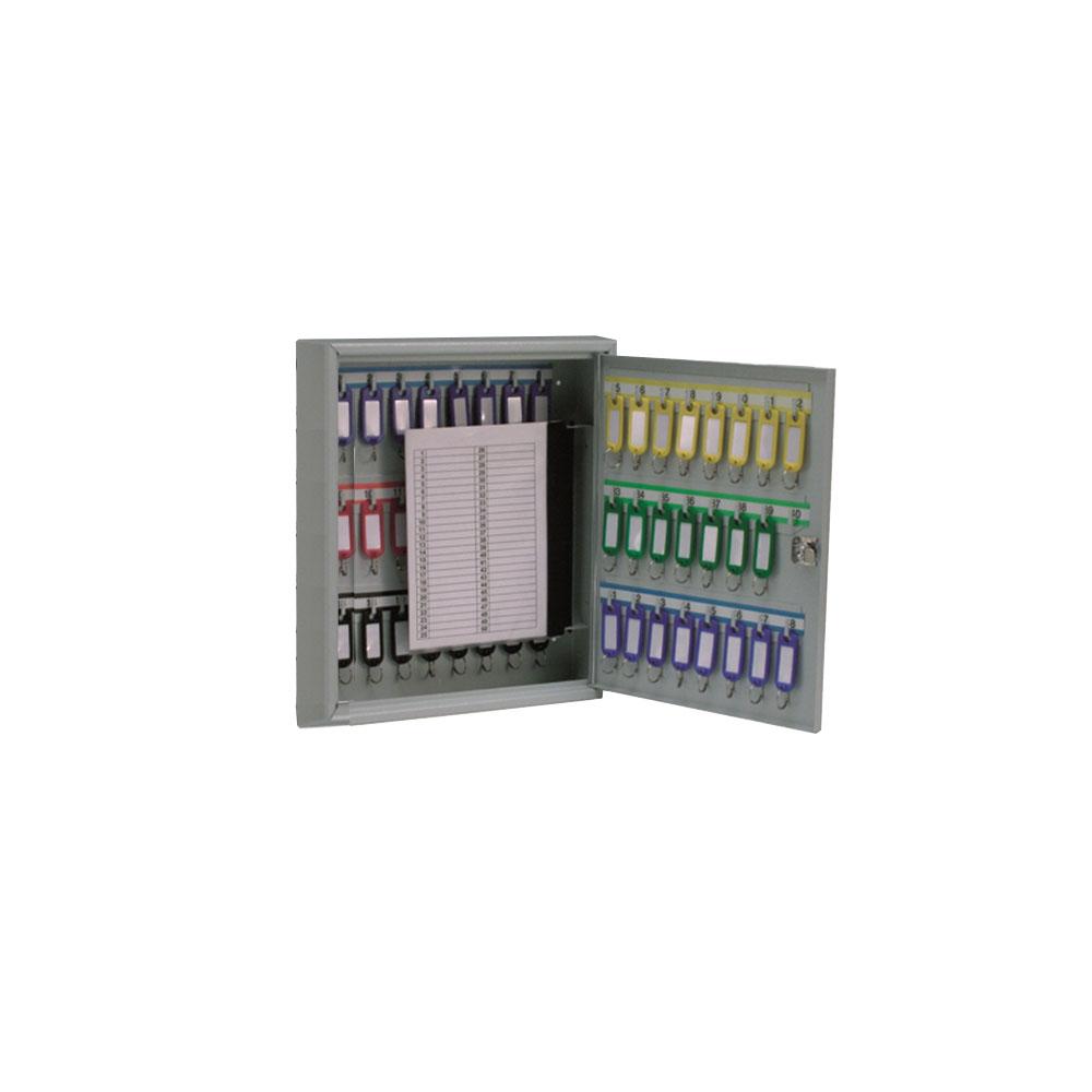 KEYSTOR - 42 Hook Key Cabinet