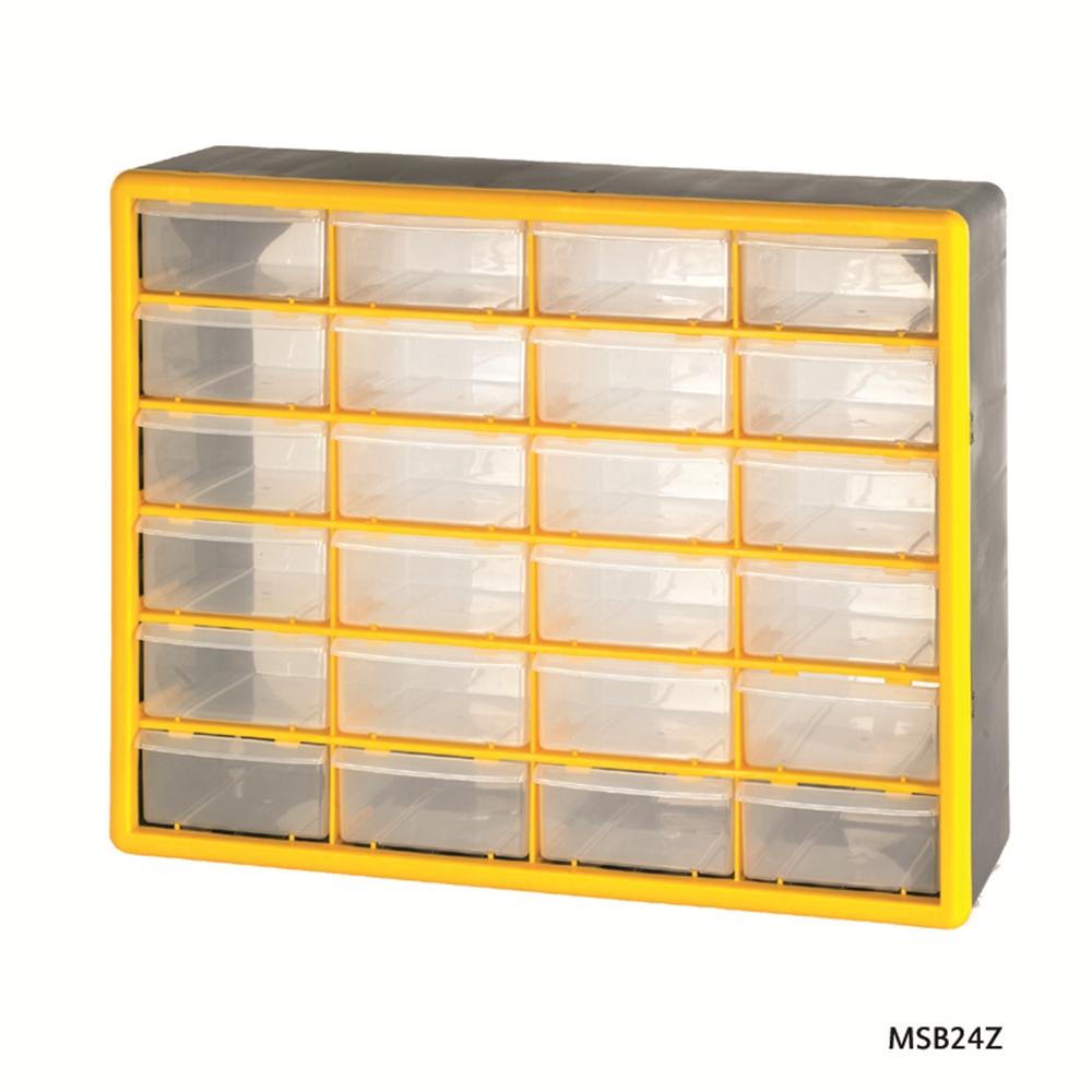24 Compartment Storage Box