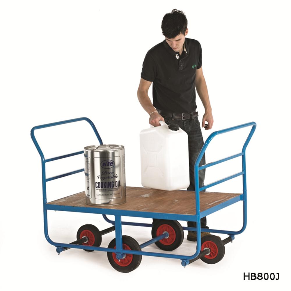 Balanced Truck - Plywood Deck - 4 Wheels
