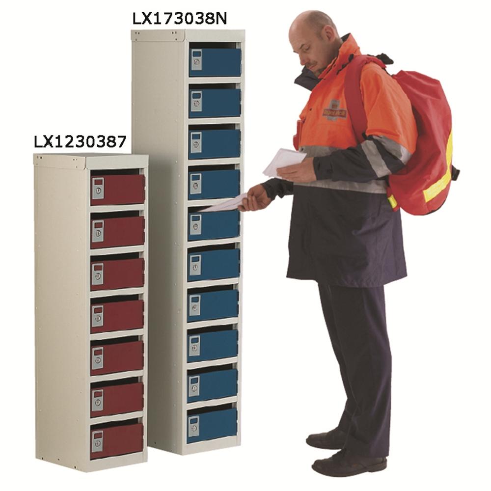 Post Box Locker 1075 x 230 x 255 - 15mm Slots