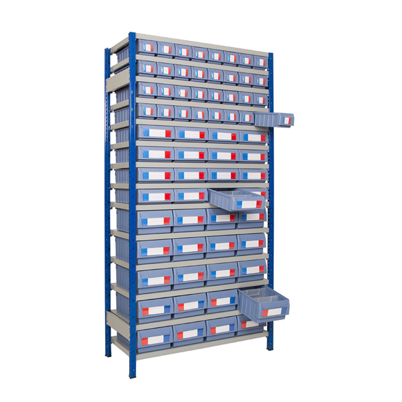 Shelving with Shelf Trays - Full Height Units - 300mm Deep