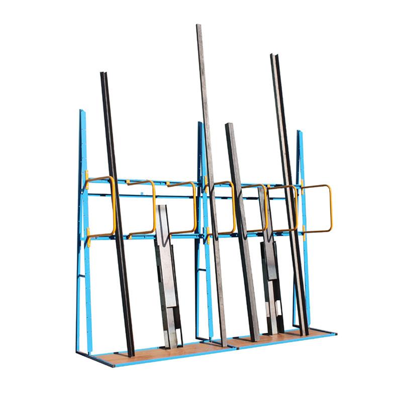 Vertical Storage Rack - Loop Dividers - 3 Compartment