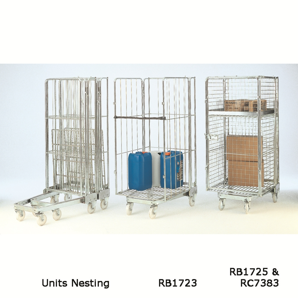 Nesting A Type Roll Containers