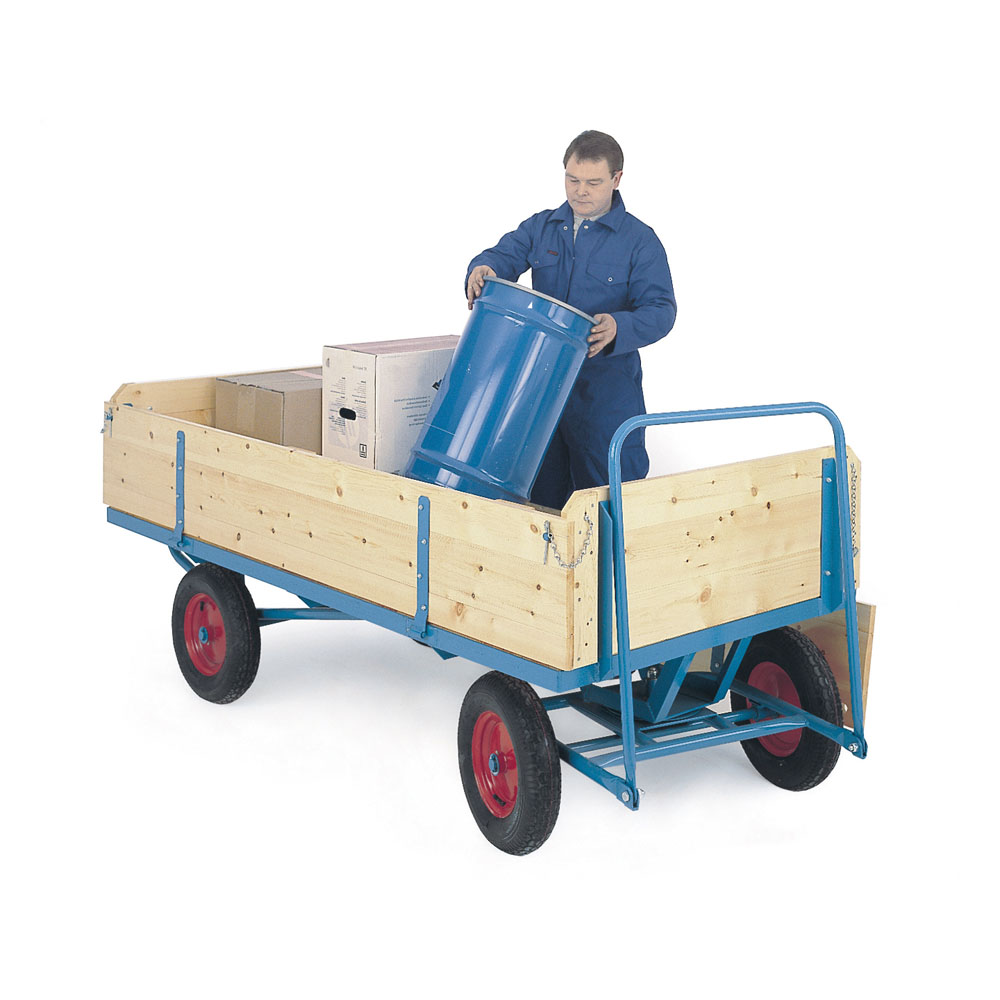 Turntable Truck c/w Sides/ENDS - Plywood - 750kg - 1200 x 700 -