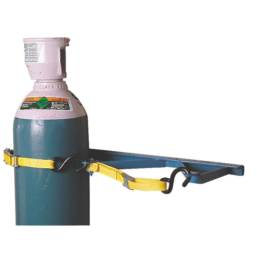 Cambuckle Wall Rack - 2 Gas Cylinders - 180-270mm dia