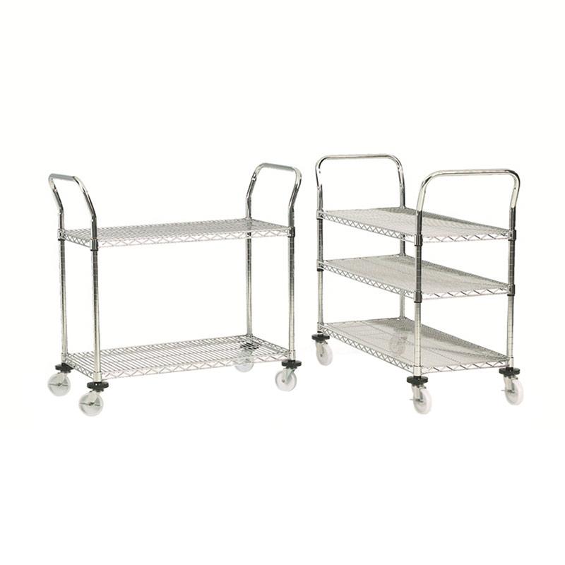 Wire Trolley - 2 Shelf