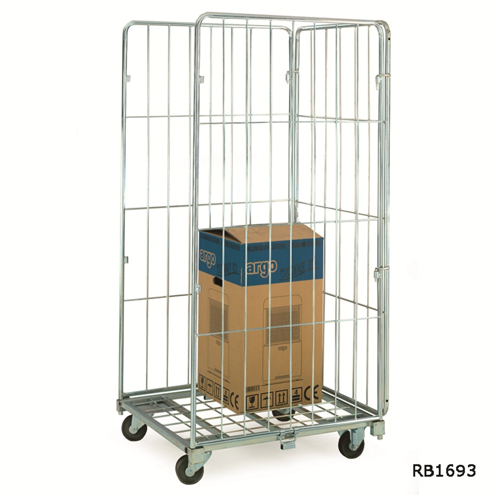 Demountable Roll Containers - 3 Sided