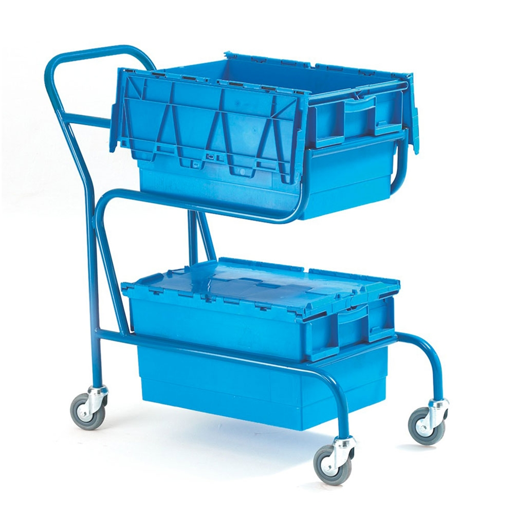 Distribution Container Carrier with 2 Containers