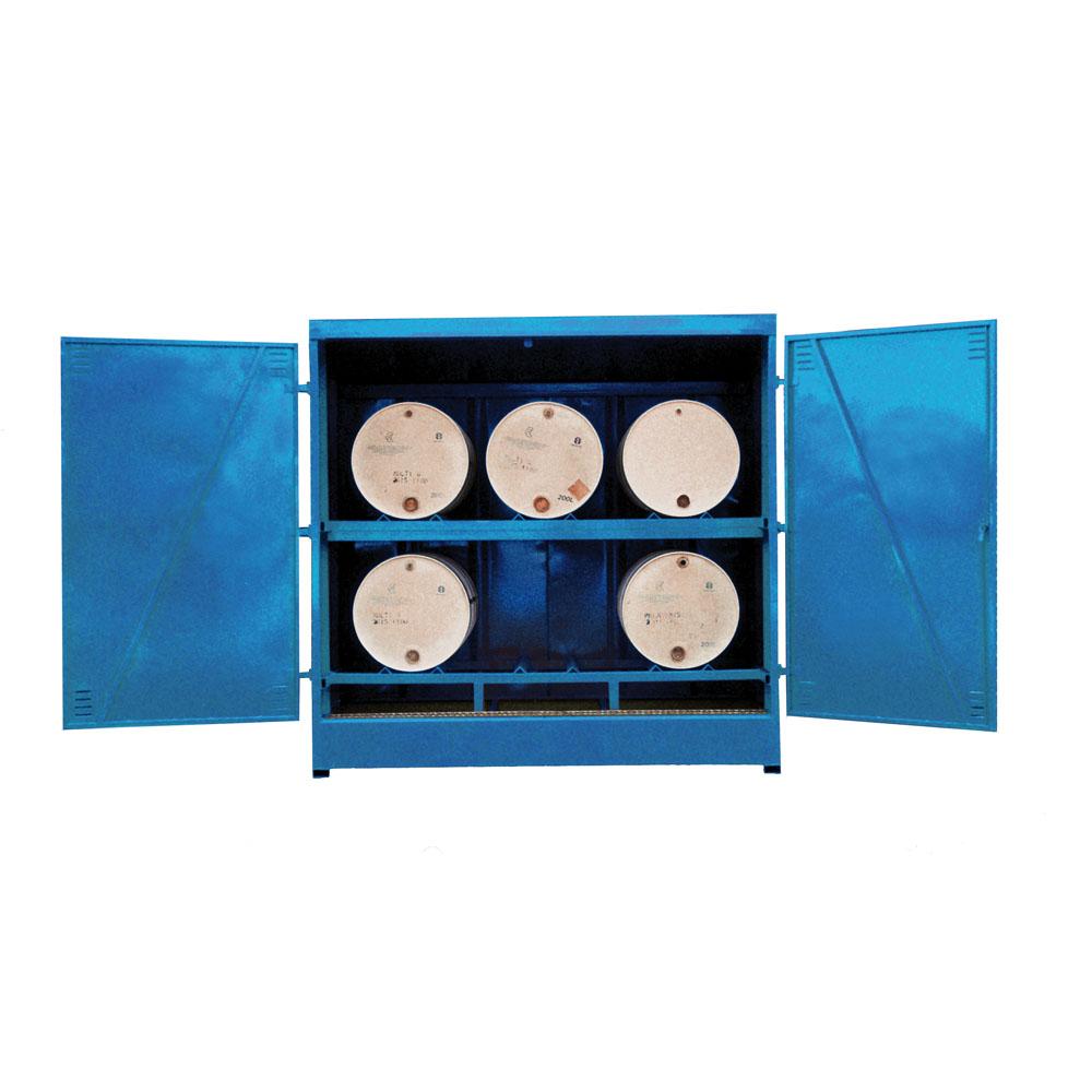 Horizontal Drum Storage - 6 Drum