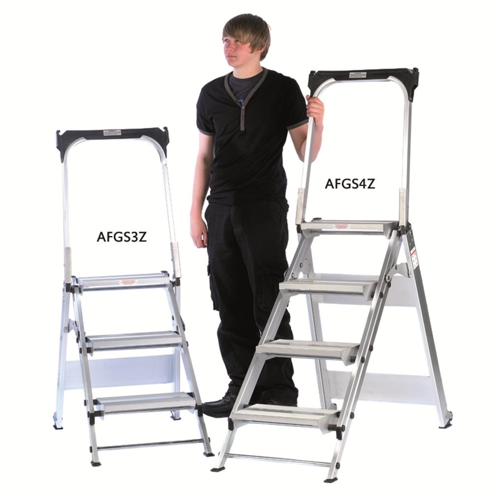 Aluminium Easy Slope Folding Steps