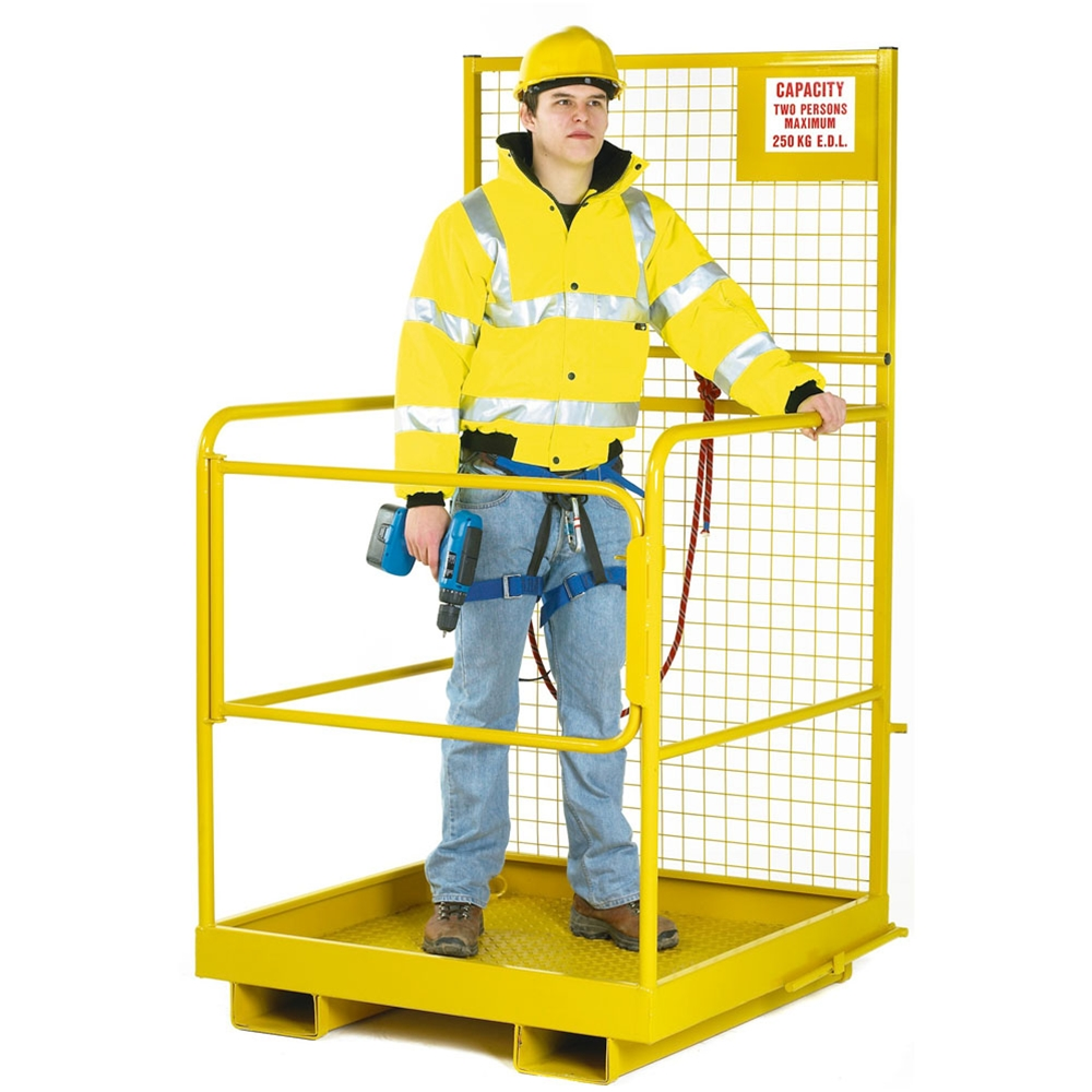 Economy Forklift Cage