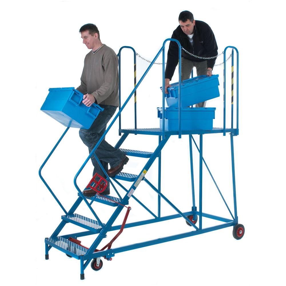 Easy Slope Platforms - Galvanised