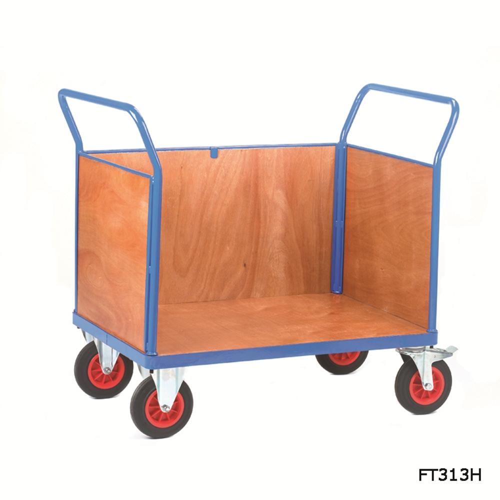 Fort Plywood Board Platform Trucks - Three Sides