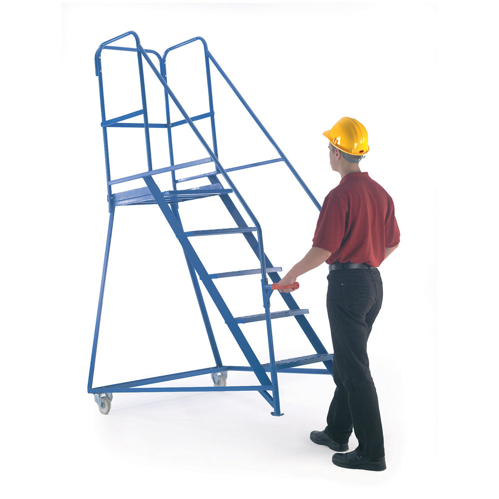 Tilt and Push Steps - Painted