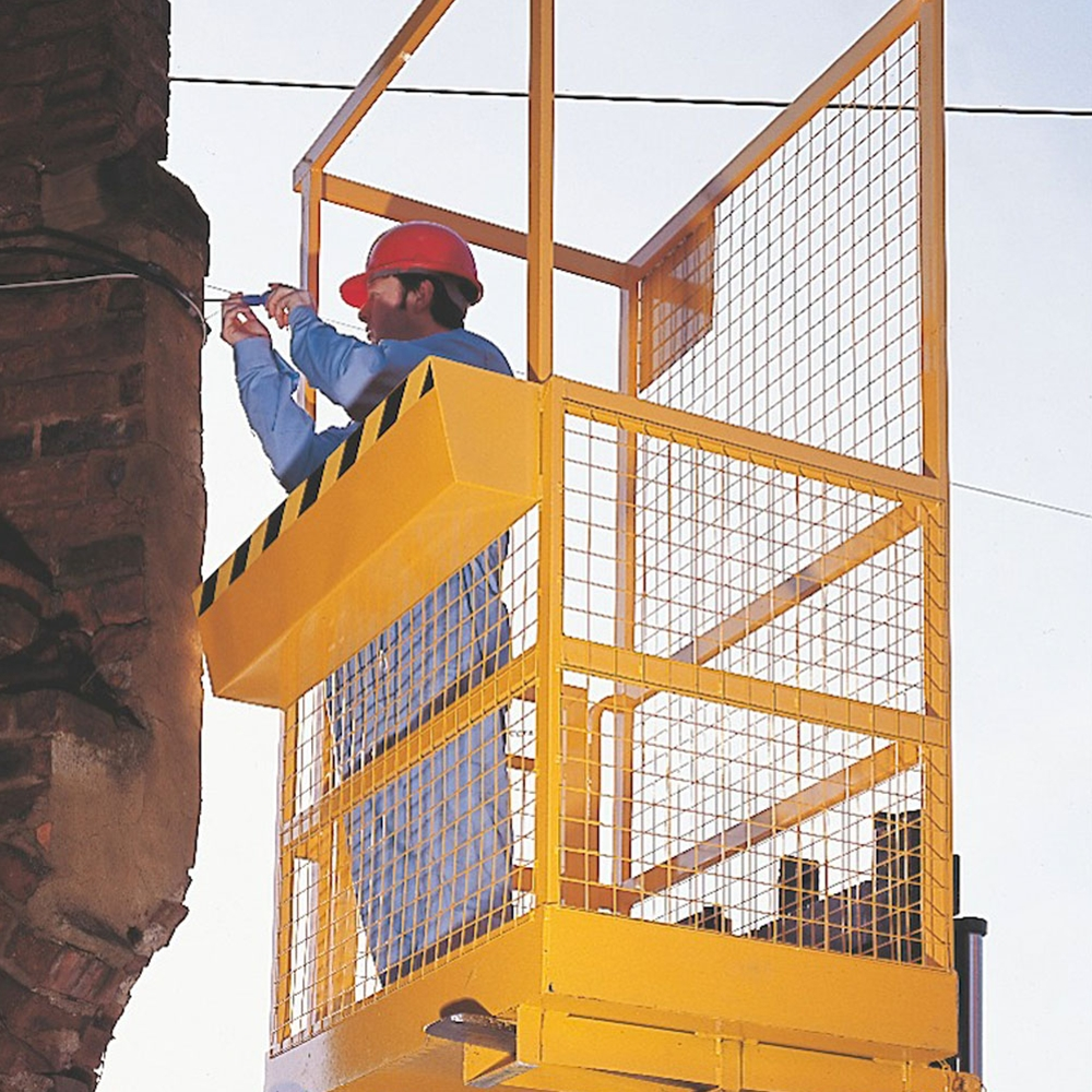 Heavy Duty Forklift Safety Cages - Mobile