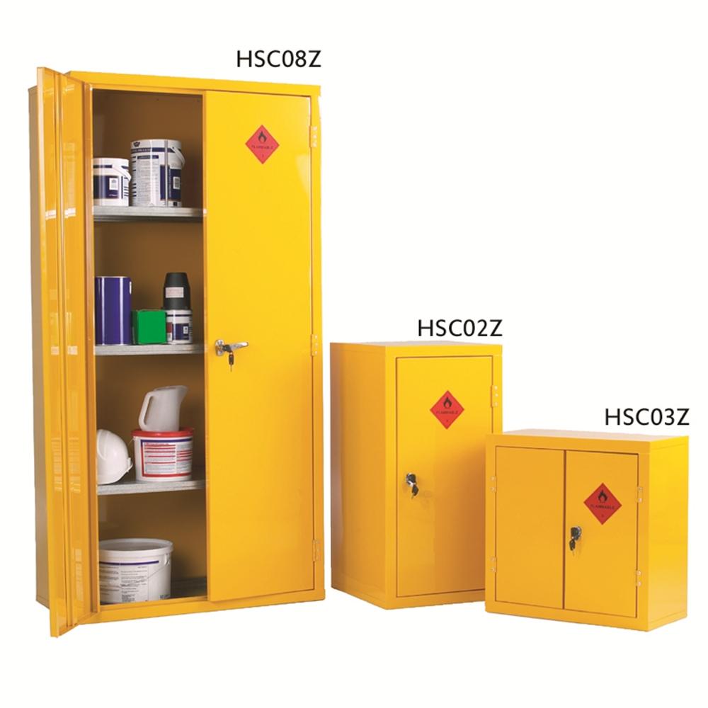 HD Hazardous Storage Cabinet - 915mm(h) x 458mm(w) x 483mm(d)