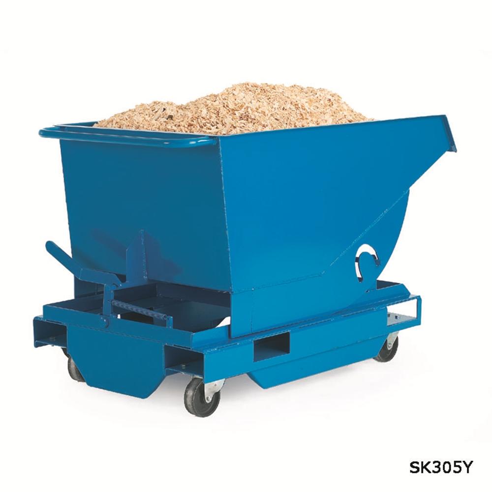 Heavy Duty Tilting Skip - 750kg - 250 Litre