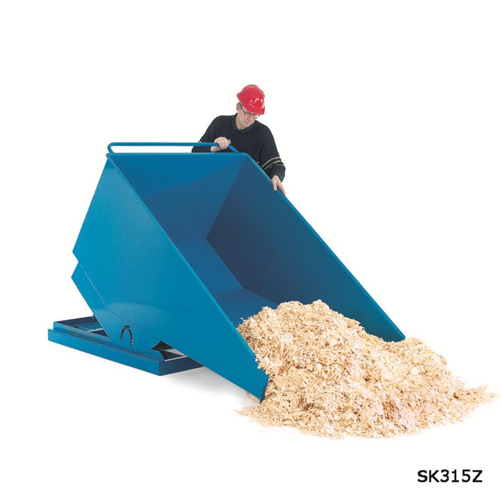 Heavy Duty Tilting Skip - 1250kg - 1000 Litre
