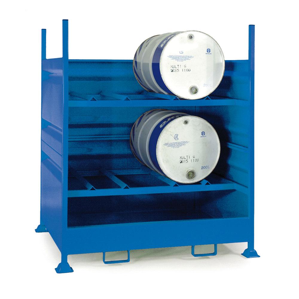 Horizontal Drum Store - 4 Drum