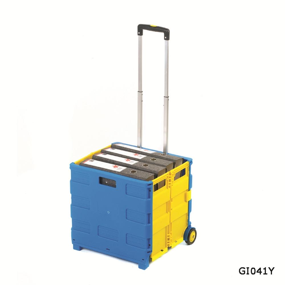 Folding Box Truck - Blue/Yellow - 850mm(h)