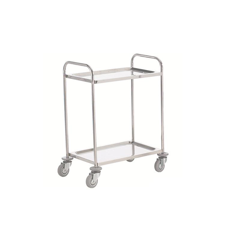 Stainless Steel Trolley - 2 Shelf