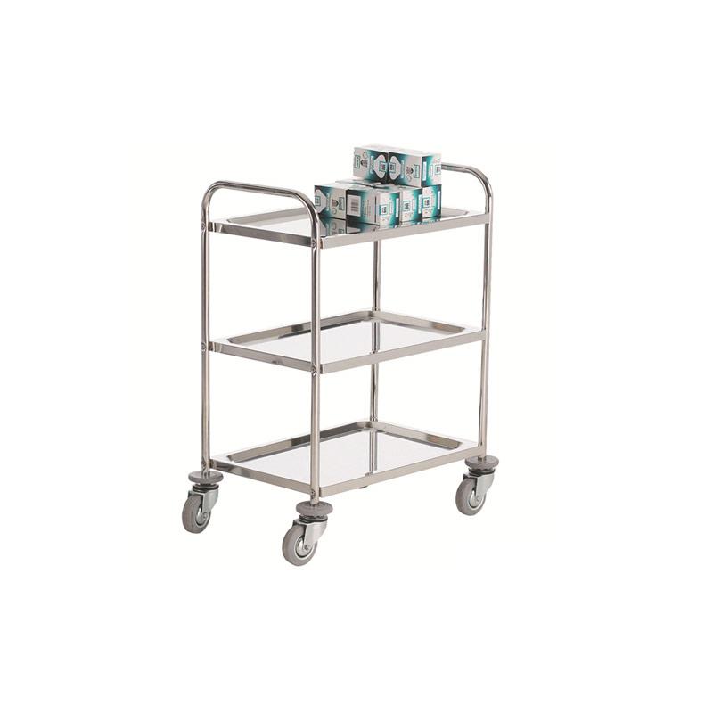 Stainless Steel Trolley- 3 Shelf