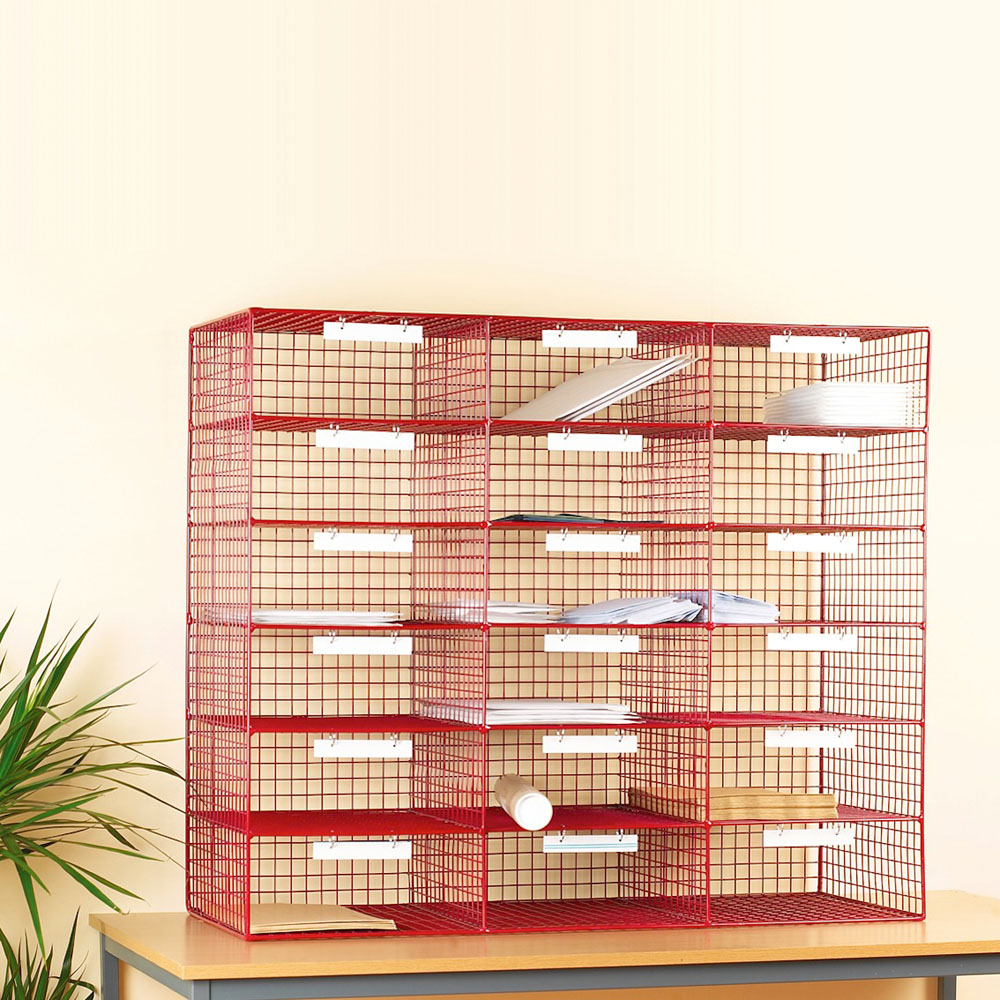 Mail Sorting System - 18 Compartments