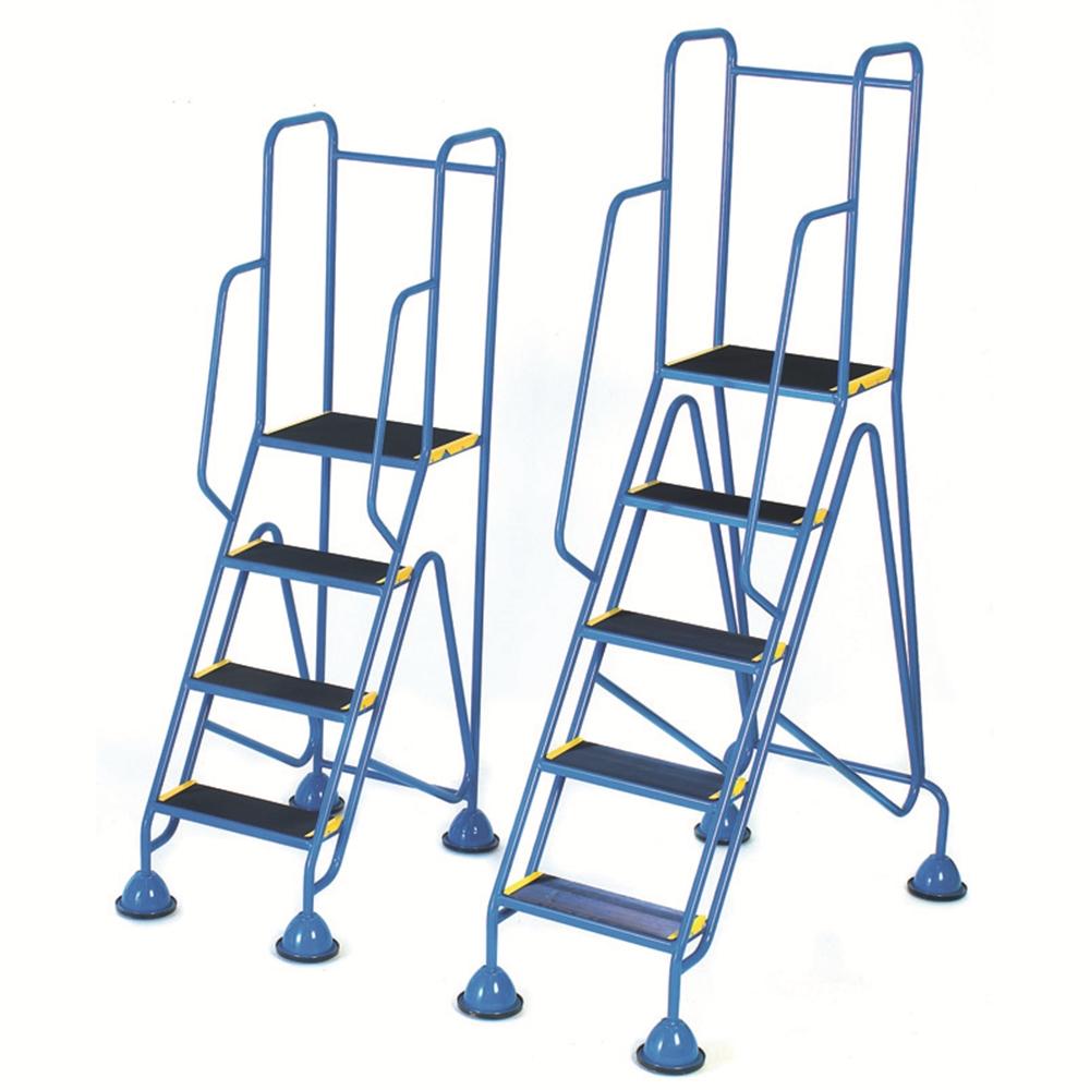 Fort Mobile Steps - Domed Feet - Full Handrail